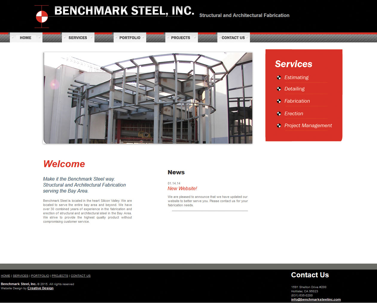 Benchmark Steel