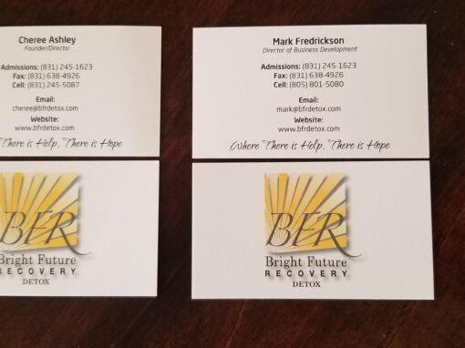 Business Cards – Bright Future Recovery