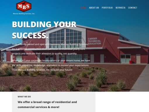 Marcus Building Systems Inc. Website